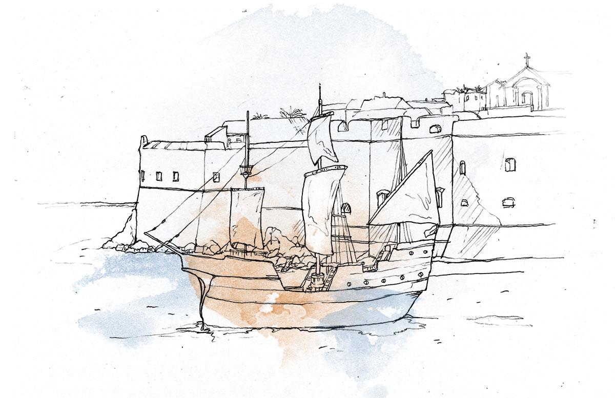 pirate battle dubrovnik