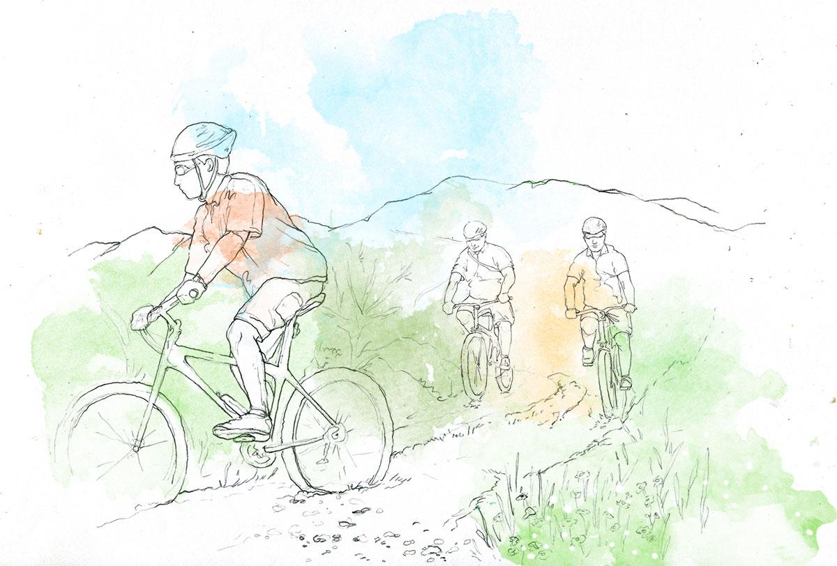 biking climbing hiking dubrovnik