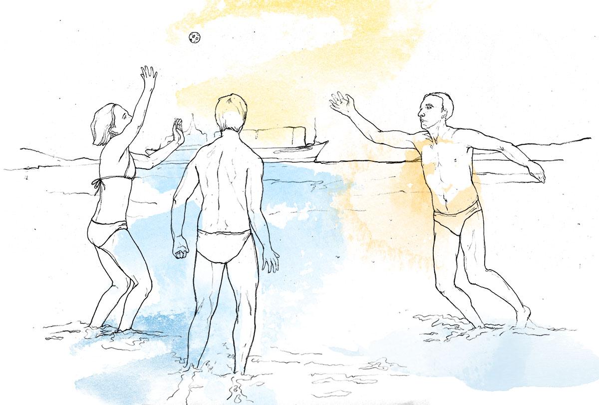 beach games dubrovnik