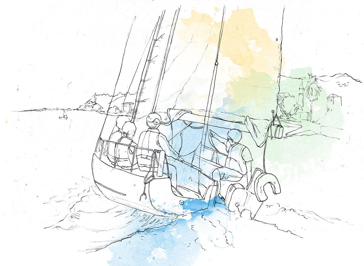 sailing regatta dubrovnik
