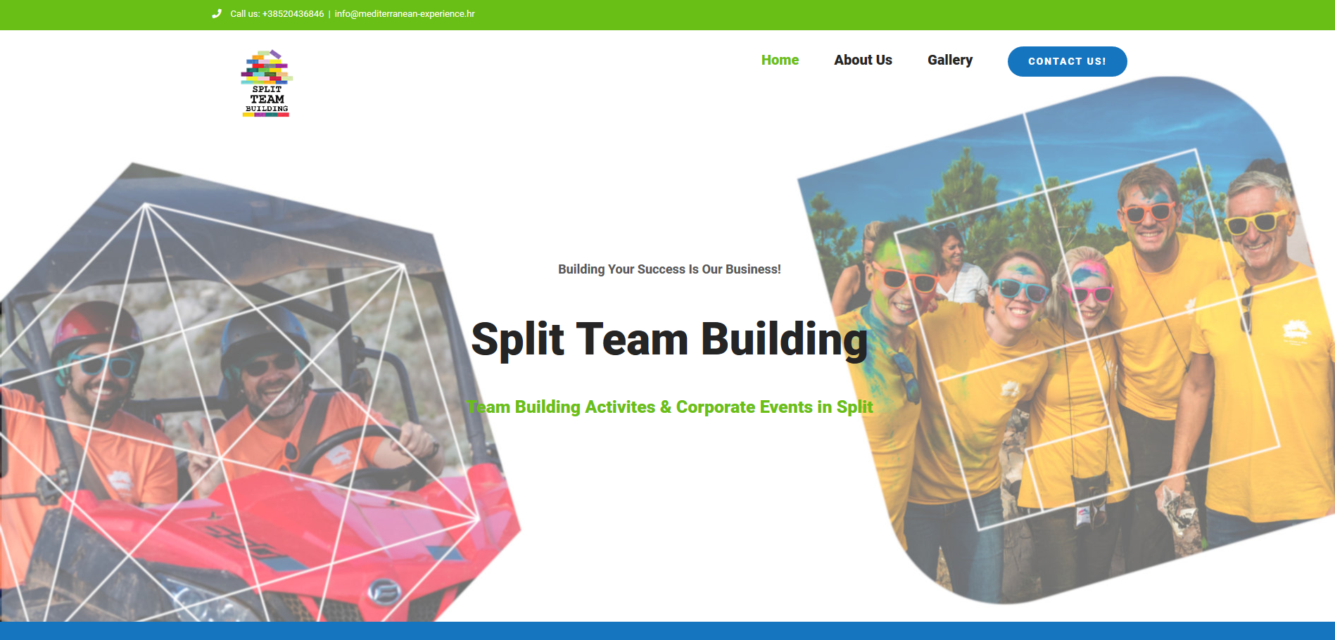 Split Team Building Activites and Events